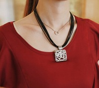 New Factory wholesales the goddess of roses Fashion Western statement elegant   choker necklace jewelry