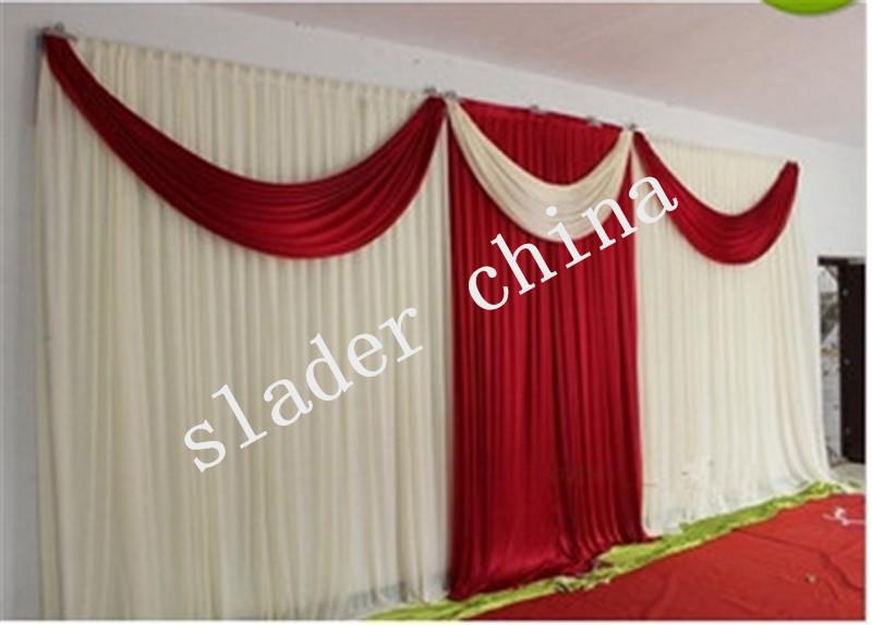 free shipping Wedding Curtain Backdrop/wedding backdrop decoration(China (Mainland))