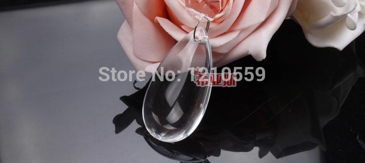 10 Pieces Teardrop Pendant Crystal Drop Smooth Wedding Tree Bead Garland Lamp(China (Mainland))