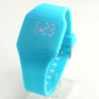 New fashion 2014 women's Led digital watch , retail, young lady's fashion wristwatch 12 colors for choose free shipping
