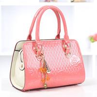 Sweet gentlewomen messenger bag 2014 small fresh one shoulder handbag women's handbag PU fashion bag
