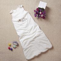 Newborn baby Clothes 100%Cotton Envelope-style Infant Sleep Sacks Zipper closure