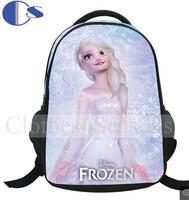 3D Frozen Backpack  Student Backpack School Bag For Girl Kids Fashion Children School Backpacks Mochila Infantil Frozen Bag