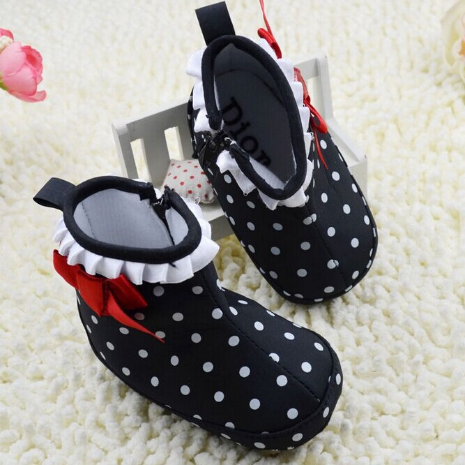Free Shipping winter snow boots baby shoes,brand baby boots,baby pre walker shoes 11 12 13cm(China (Mainland))