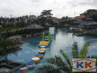 lake inflatable floating water slide aqua obstacle park priceKKWB-L003