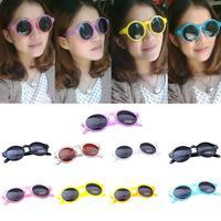 Fahion Women Vintage Sunglasses Popular Cool Mirror Sunglasses Unisex Colorful Frame  sunglasses