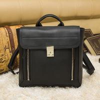 W. Logo brand name 1:1 high quality Lim Pashli Satchel Genuine Leather women men dual zipper sport fashion cool Backpack