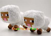 2014 New Minecraft White Sheep JJ Dolls Minecraft Creeper Coolie Afraid Plush Toys Stuffed Toys of My World Baby Kids GIFT