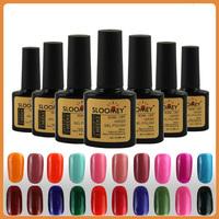 Top Coat+Base Coat Kit Gel Nail Polish Gorgeous Colors UV Gel Nail Polish Long-lastting Free Shipping
