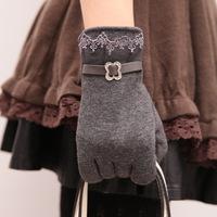 2014 New Autumn & Winter Women gloves Winter Knit Warm gloves,SP010