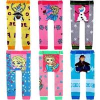 18pairs kids boys and girls Leggings knitting pants Baby leg baby PP Pants pp pants cartoon frozen design 946