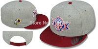 Super Bowl XXVI Snapback Cap 26 Grey Red Hat Baseball Football Champion Patch Customization Embroider Logo Mix Order 5Pcs/Lot