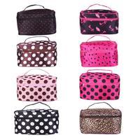 women makeup organizer home storage & organization small travel bags cosmetic bags famous brand waterproof PU makeup