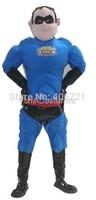 muscle superhero  Mascot Costume, party costumes  character mascot carnival costumes adult cosplay costume custom mascot made