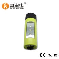 New design Travel Essentials LED flashlight + tent lamp + mobile power bank