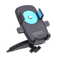 Universal Car CD Slot Vehicle Mount Stand Car Bracket Holder for iPhone MP3 MP4 Cell Phone GPS 360 Degree Rotatable