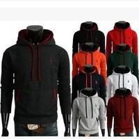 2014 Autumn New Mens hoodies, Hot sale fashion Causal hoodies men, Slim fit Men sweatshirts pullover moleton masculino 9 colors