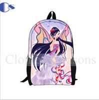 Cartoon Winx Student Backpack Kids Children School Backpacks Mochila Infantil School Bag For Girls Mochilas School Kids