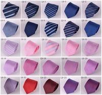 2014 Men's Microfiber Neckties fashion tie neck ties striped high quality business adult neck tie 27 designs