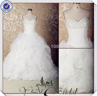 JJ3579 ball gown oganza sweetheart wedding dress pattern maid of honor wedding dresses 2014