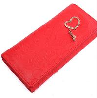 2014 New Fashion  PU Leather Medium-Long Wallet Women's Wallets Purse Bag Purses Passport Cover Change Clutch Women Wallets C048