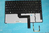 nb1985 US keyboard For ACER ASPIRE M5-481 M5-481G M5-481PT Backlit Teclado 9ZNBDLQB012BG000KMVA