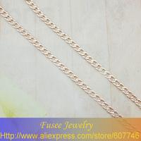 BHH0226 Copper 18K gold plated Russia cc color necklace 60CM
