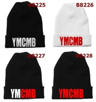 2014 embroider beanies  YMCMB Beanie Black Men Women hip hop new arrival hot sale wholesale 228