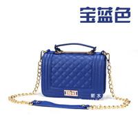 2014 Vintage British Satchel le boy Crossbody Messenger Bags Women PU Leather chain Shoulder Handbag