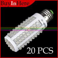 20PCS Energy Saving 360 Degree E27 7.5W 126 LED Corn Light Lamp Bulb Warm/Cool White 110V Lighting Home