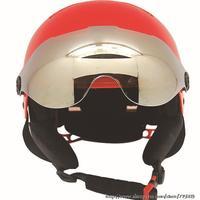 New 2014 ski sport helmet with goggle, ventilation system (close+open function) skateborad helmet