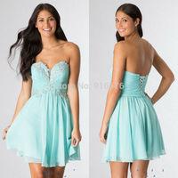 Sweetheart Neckline Short Homecoming Dresses Under 100 Modest Cheap Graduation Dress Corset Back A Line