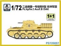 S-model  PS720097 1/72 Pz.kpfw.I Ausf.B DAK