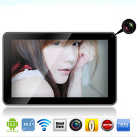 Ben-ray Quad core tablets pc +global free shipping 10.1 inch 16GB super clear tablet pcs HD tablets computer Rom 2GB 7