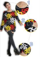 2014 Autumn Plus Size Loose Sweater Sweet Casual Pullover Slim Fashion Women's Cashmere Crewnecks HOT night ZZ0804