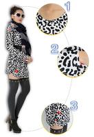Fashion Mother/ Mama Gift 2014 Autumn Winter Full O-neck Crwnecks Thin Wool Pullover Large size ZZ0806