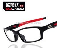 free shipping 2014 new explosion proof glasses frame 8029   silica gel sports  myopia oculos de grau