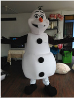 New Adult Sized Christmas New OLAF SNOWMAN FROZEN Catoon Character Mascot Costume School Fancy Dress Costumes Free Shipping