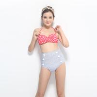 free shipping ,bikini set, swimming wear,beach wear ,high waist style, lovely design,moq is 1pc