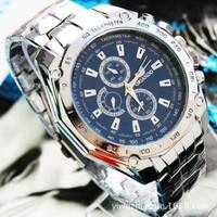 New 2014 Fashion Watches Men Stainless Steel Belt Sport Business Quartz Watch Wristwatches