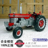 Free shipping Massey Ferguson 1080 Massey Ferguson tractor France UH 1:32 alloy car models Toys for children&boys&Kids