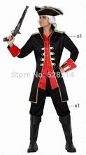 Бесплатная доставка — 2014 новинка карнавал косплей костюм ну вечеринку одежда для взрослого человека трикотажные костюм в стиле эпохи