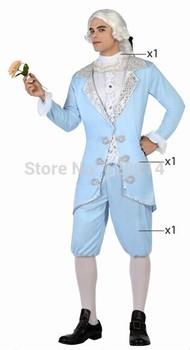 Бесплатная доставка - 2014 новинка карнавал косплей костюм ну вечеринку одежда для взрослого человека трикотажные необычные благородный костюм