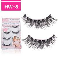 Fashion Crisscross Eyelashes Japanese eye lashes wholesale HW-8