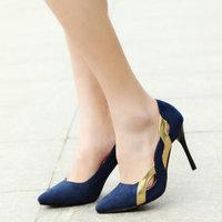 2014 Autumn Shoes Woman High Heels Wedding Shoes Pointed Toe Women Shoes Fashion Women Pumps