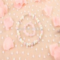 Kids jelly beads  set , girl pink Necklace and bracelet set,XL 26