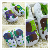 HOT New Cotton Elephent Baby Shoes Toddler Unisex Soft Sole Skid-proof 0-12 Months  infant Shoe Free Shipping