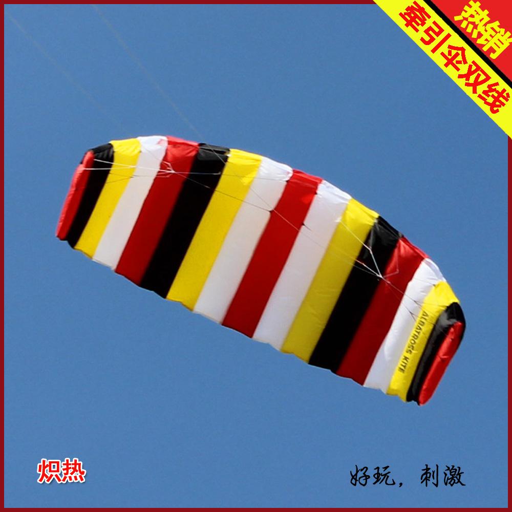 Two-thread power umbrella dual line kite stunt kite(China (Mainland))