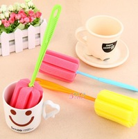 Multifunction dead plus long-handled scrub sponge head health cup brush cup brush cup brush cleaning brush simple and durable