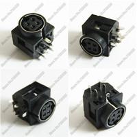 Laptop DC power jack connector socket monitor a variety of small plates power   plug  5pin 10pcs free shipping